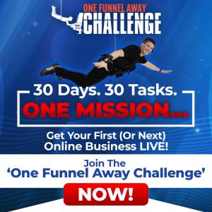 OFA - One Funnel Away Challenge